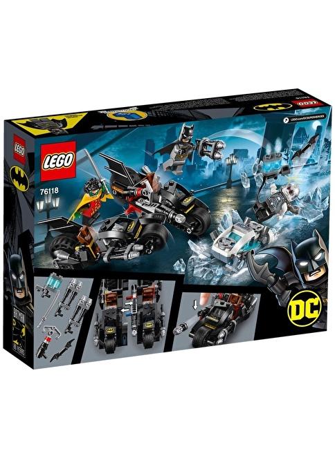 Lego LEGO Super Heroes Mr. Freeze Batcycle Savaşı Renkli